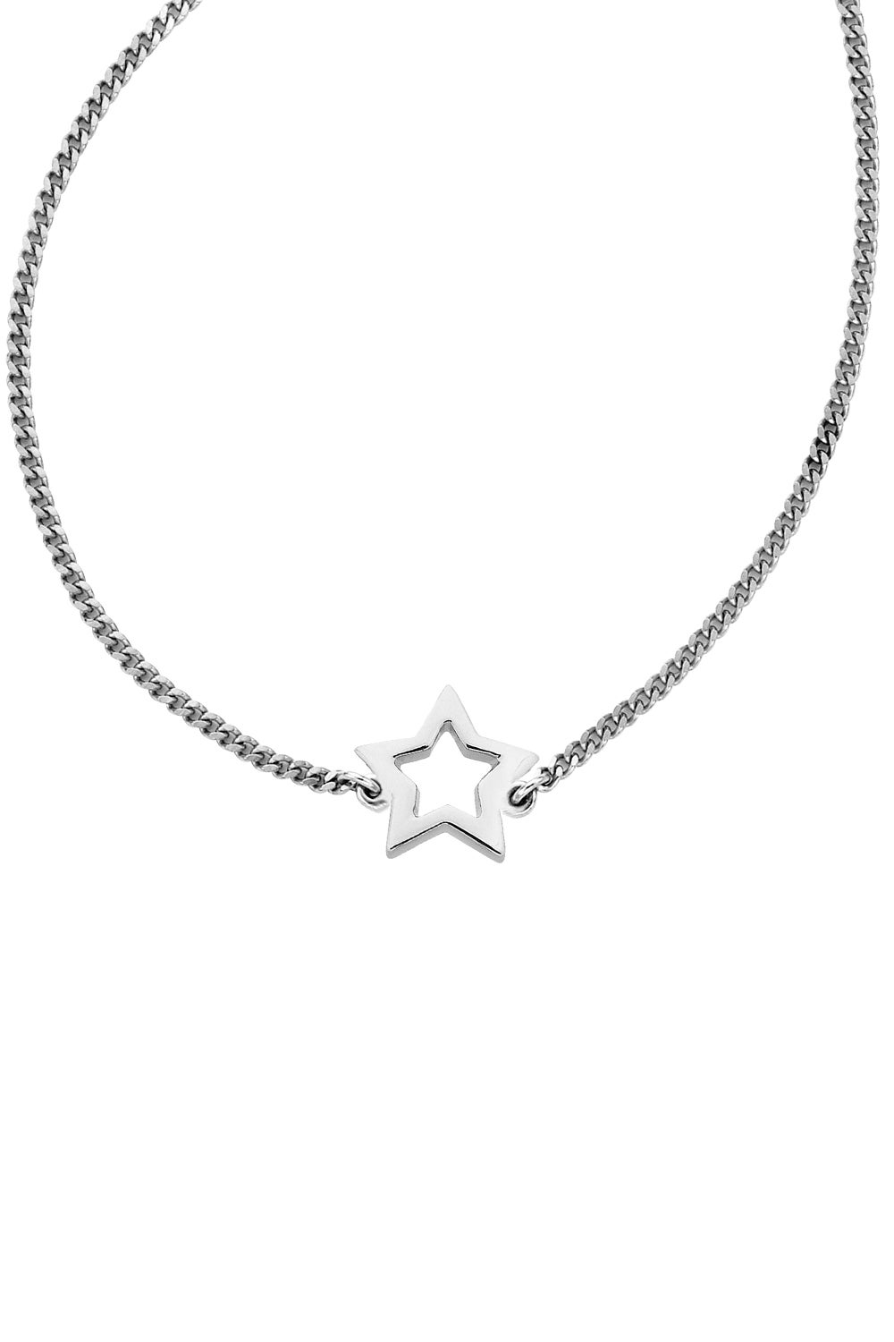Mini Star Necklace Silver