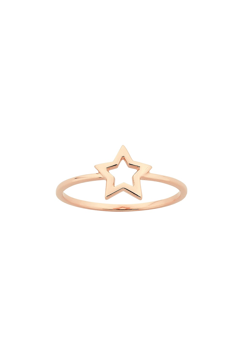 Mini Star Ring Rose Gold