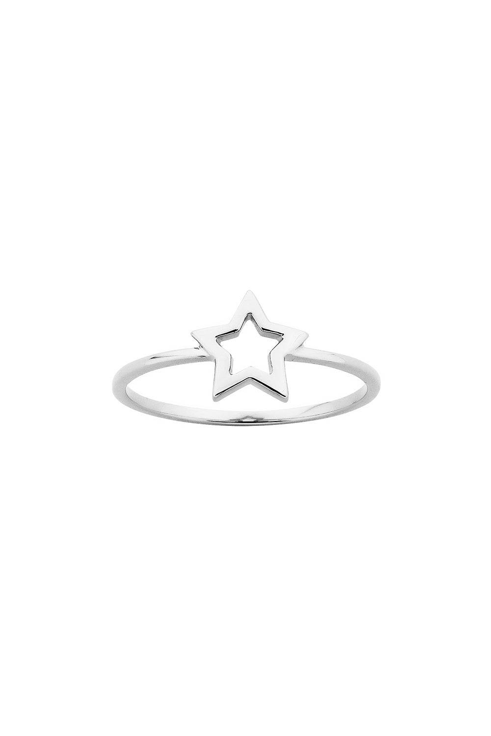 Mini Star Ring Silver
