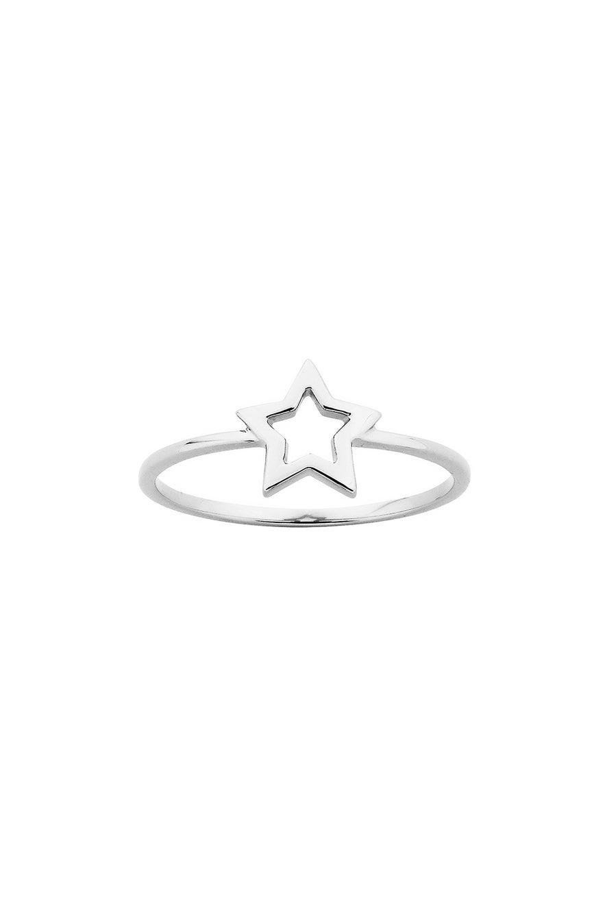 Mini Star Ring Silver
