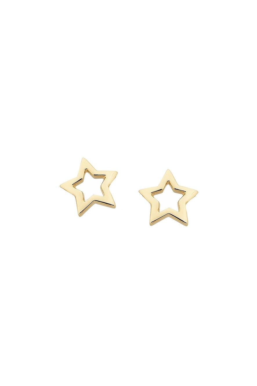 Mini Star Studs Gold
