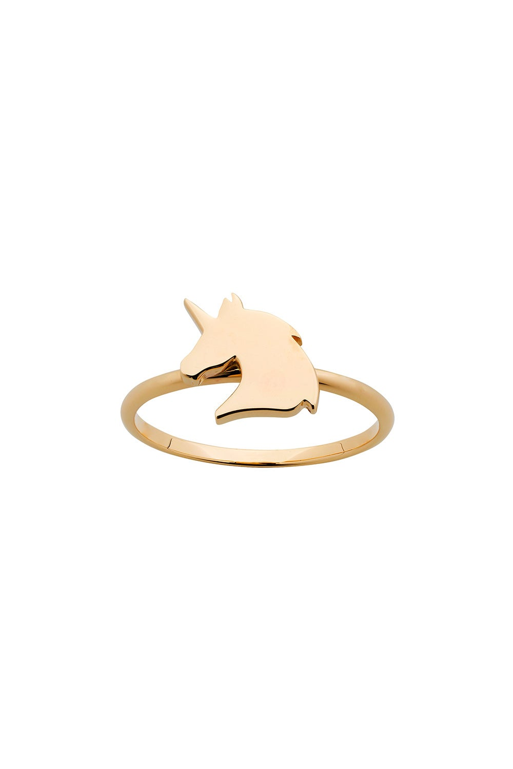 Mini Unicorn Ring Gold