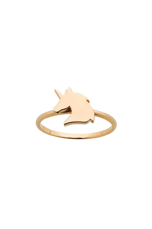 Mini Unicorn Ring Gold