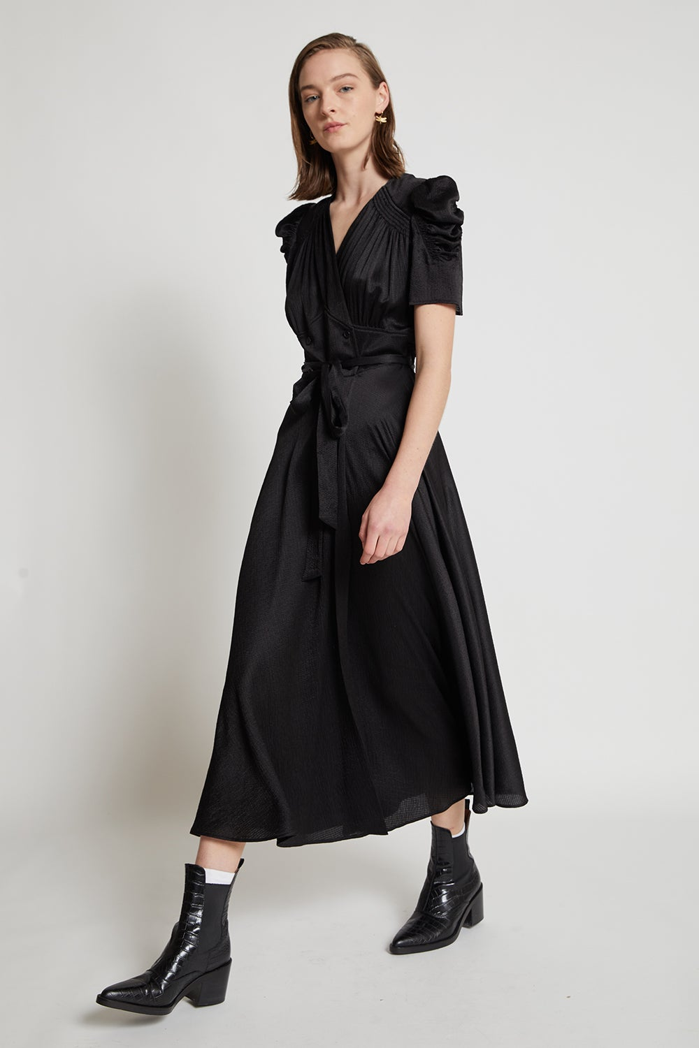 Mr. Lincoln Wrap Dress