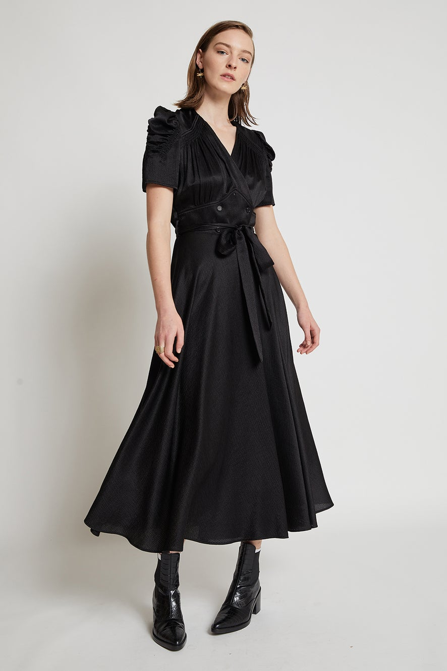 Mr. Lincoln Wrap Dress