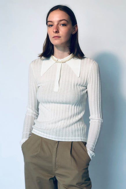 Muse Long Sleeve Polo