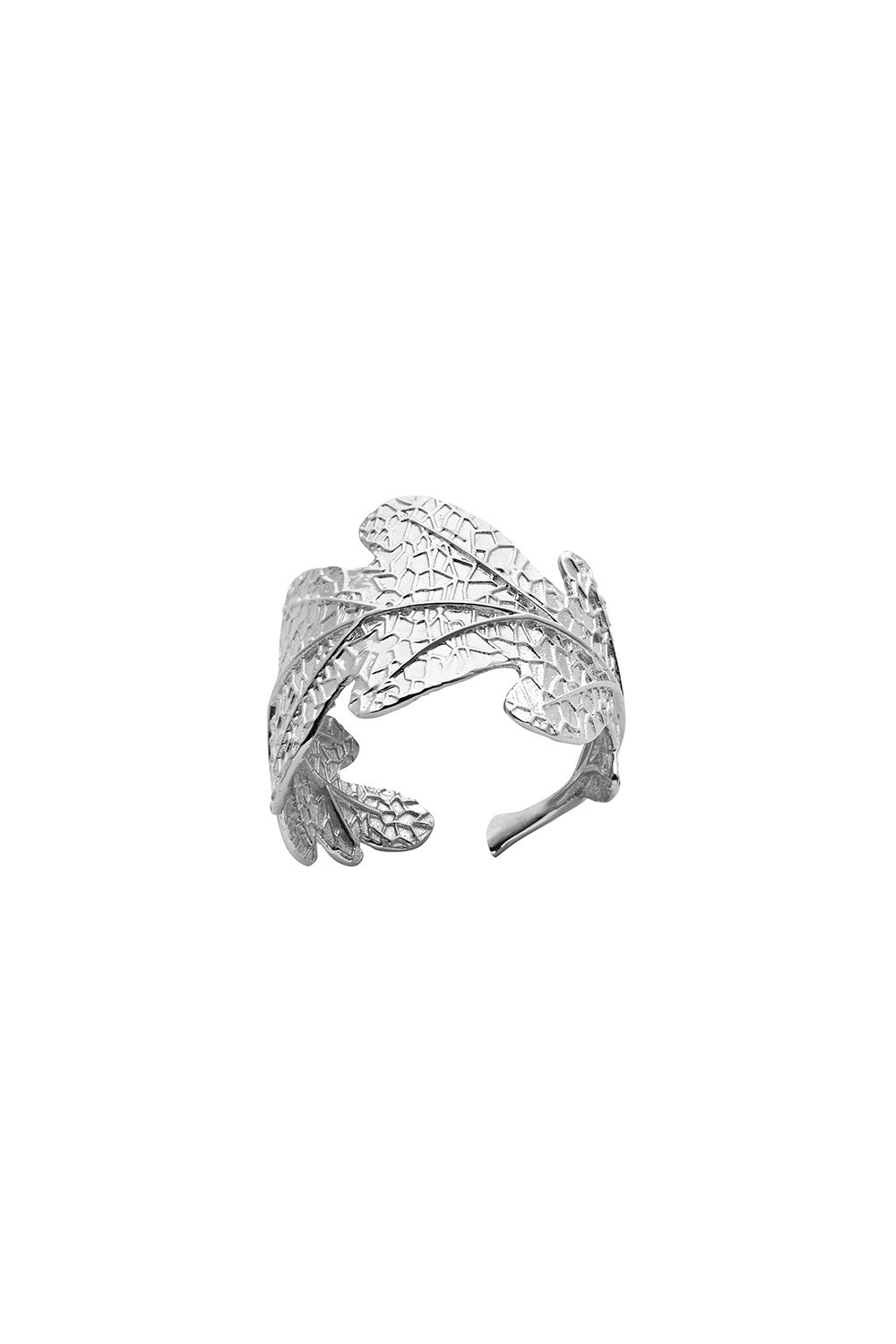 Oak Leaf Ring Silver