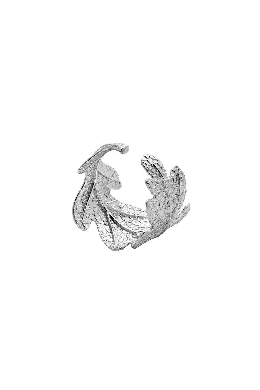 Oak Leaf Ring Silver