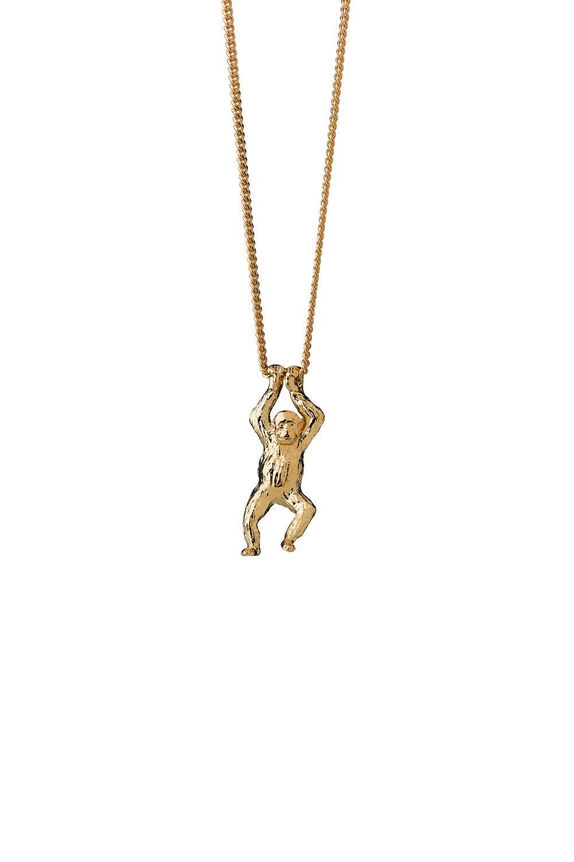 Orangutan Necklace Gold