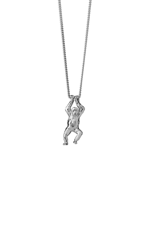 Orangutan Necklace Sterling Silver