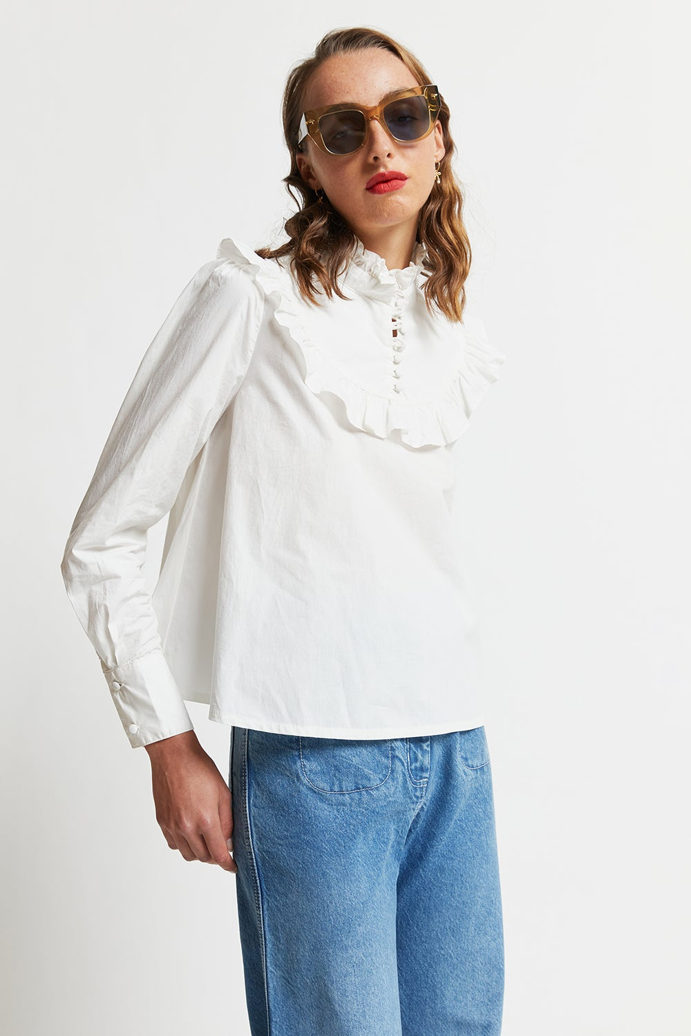 Organic Cotton Lea Top