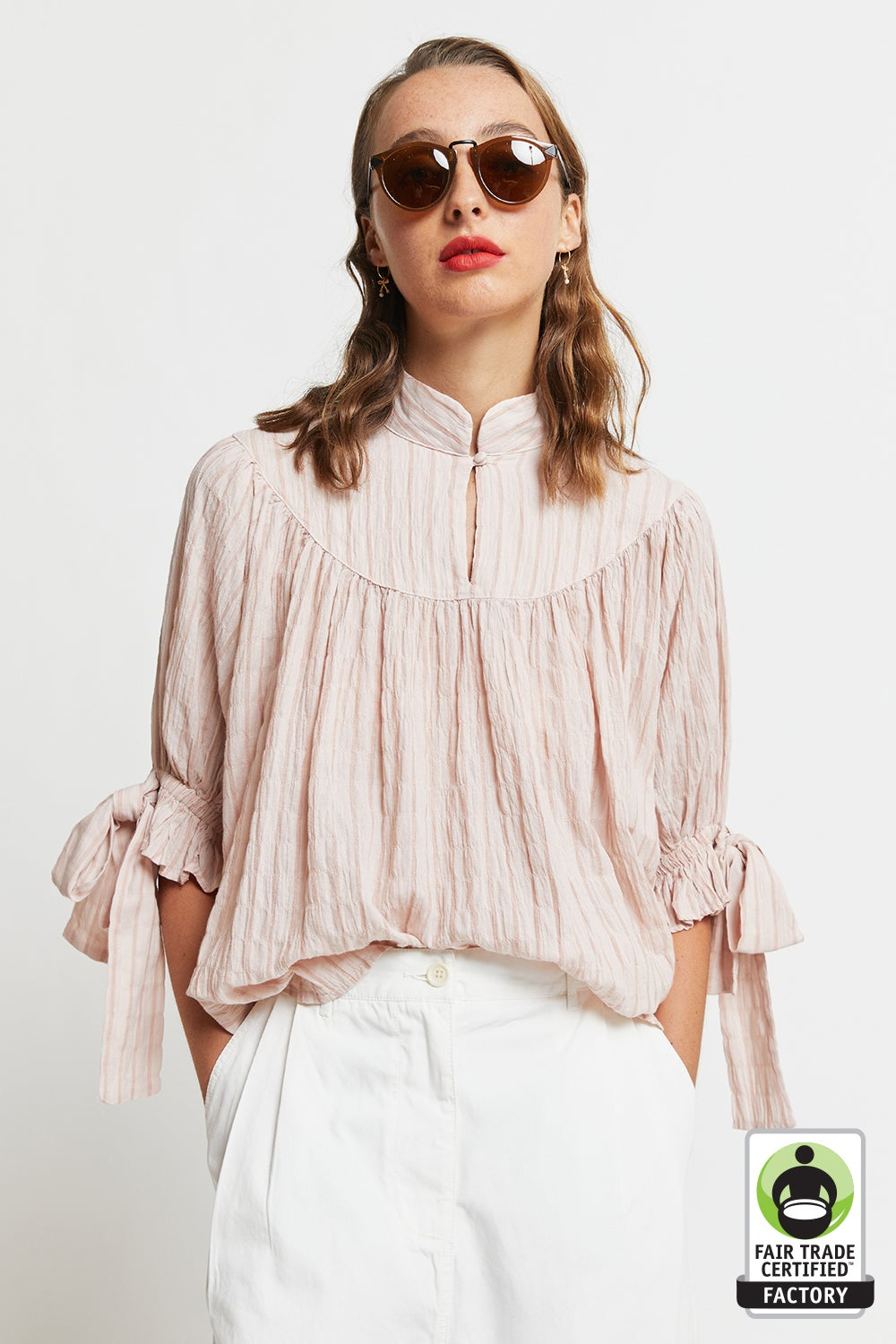 Organic Cotton Prairie Blouse