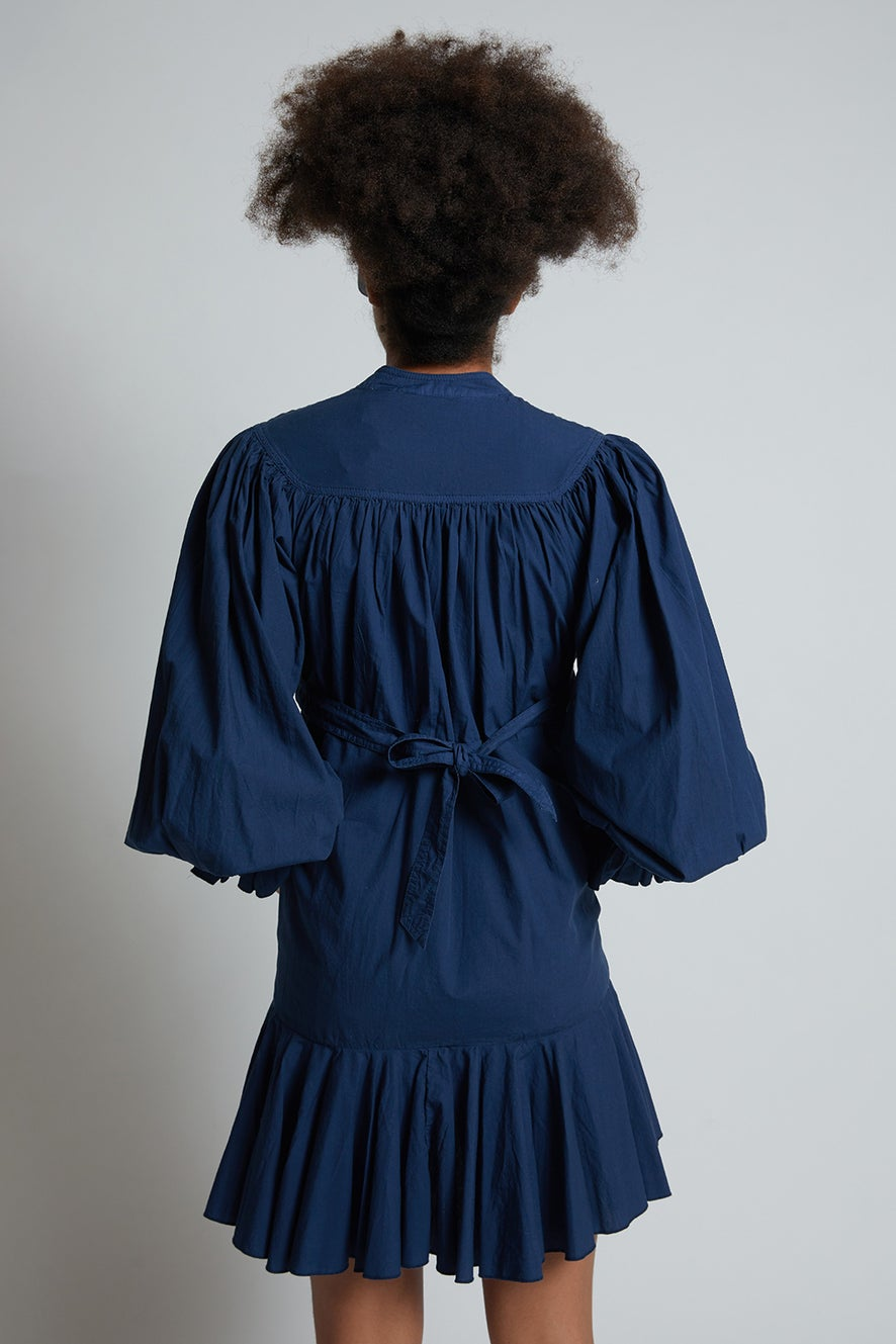 Organic Cotton Tie Back Dress