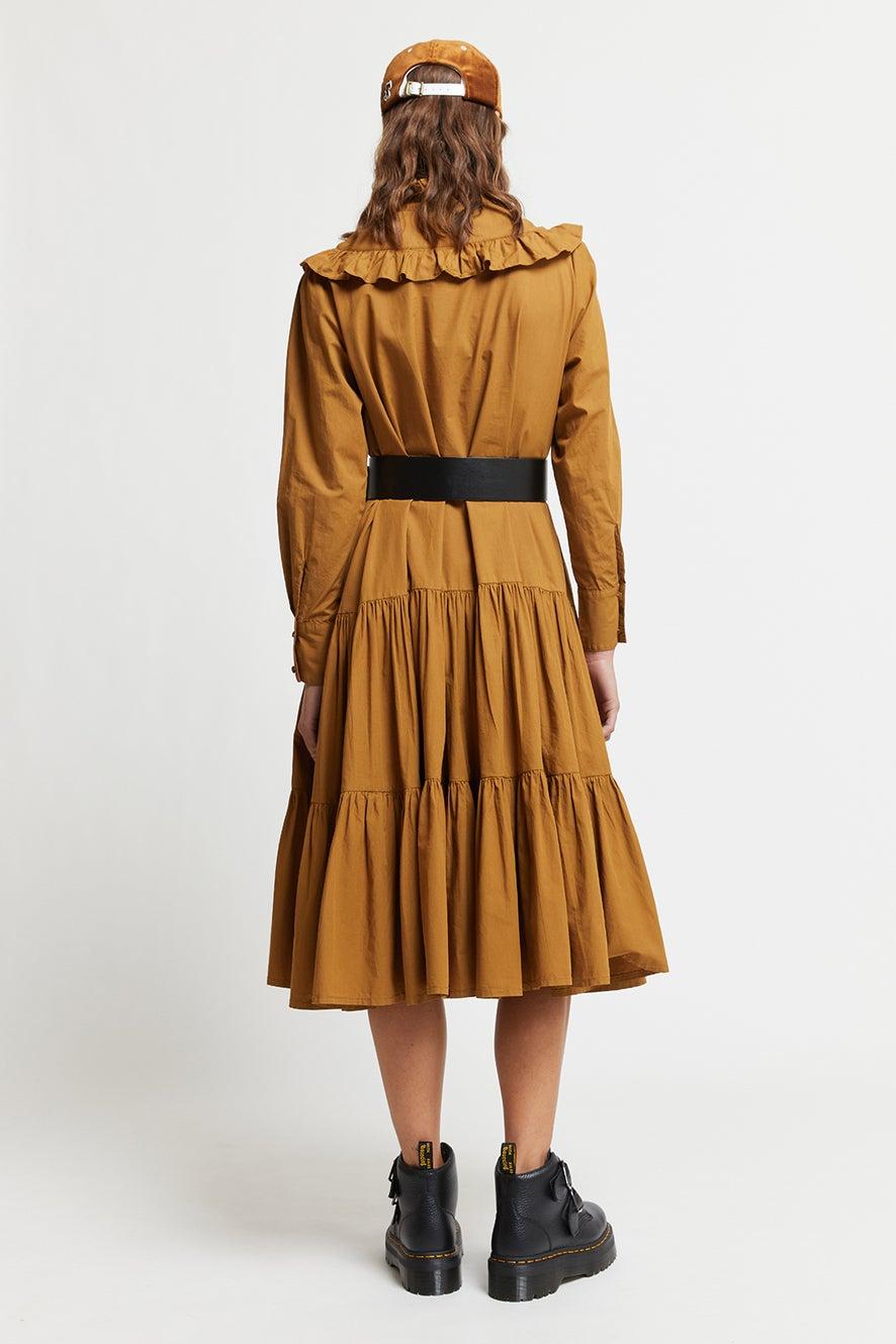 Organic Cotton Tiered Lea Dress