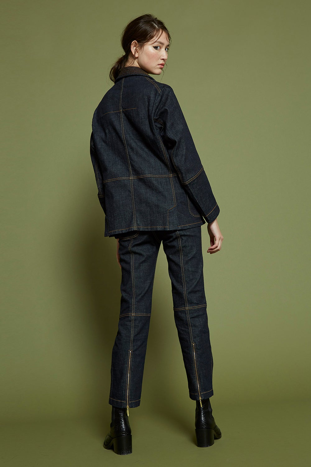 Outland Denim x Karen Walker Idle Jean