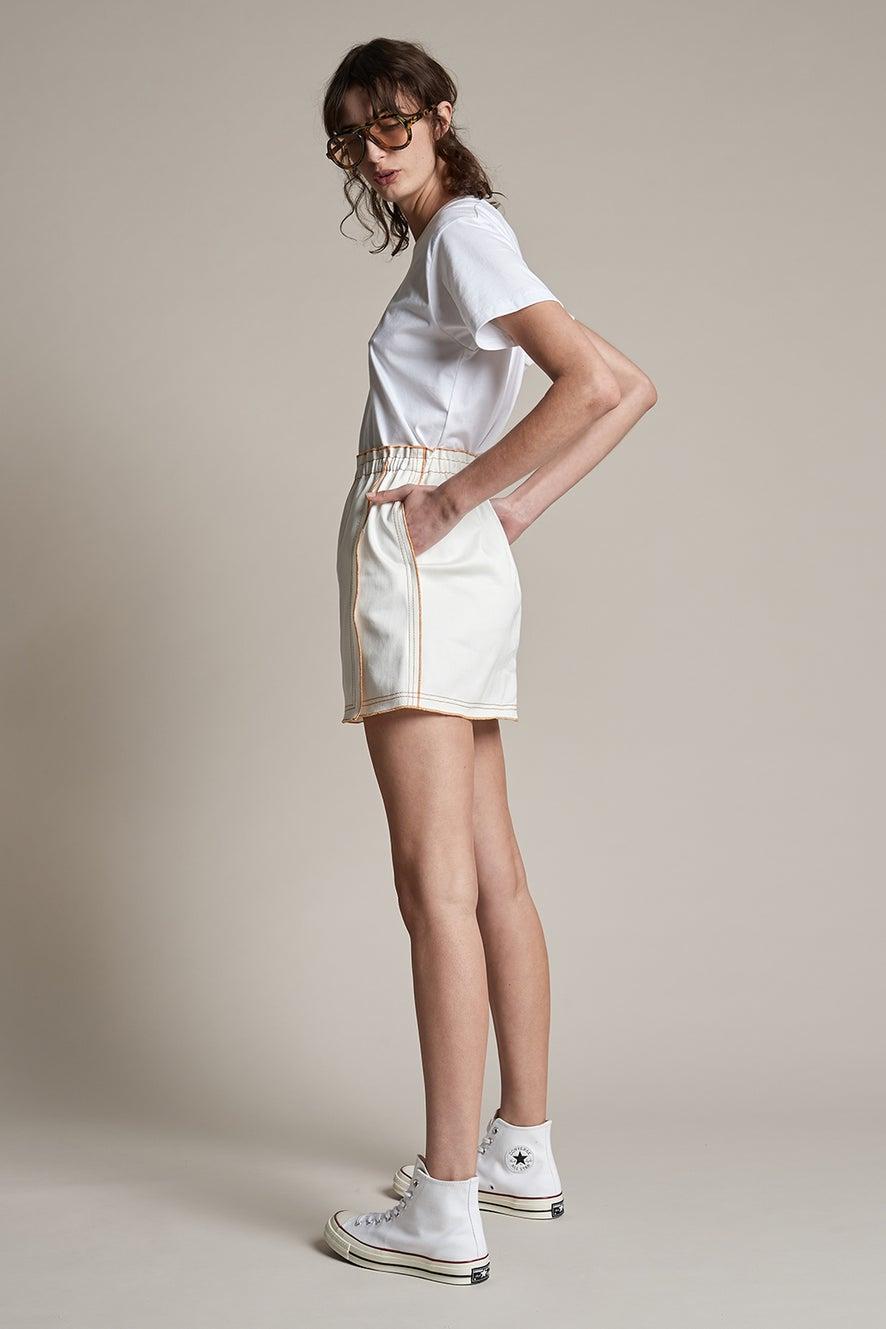 Outland Denim x Karen Walker Rhythm Skirt