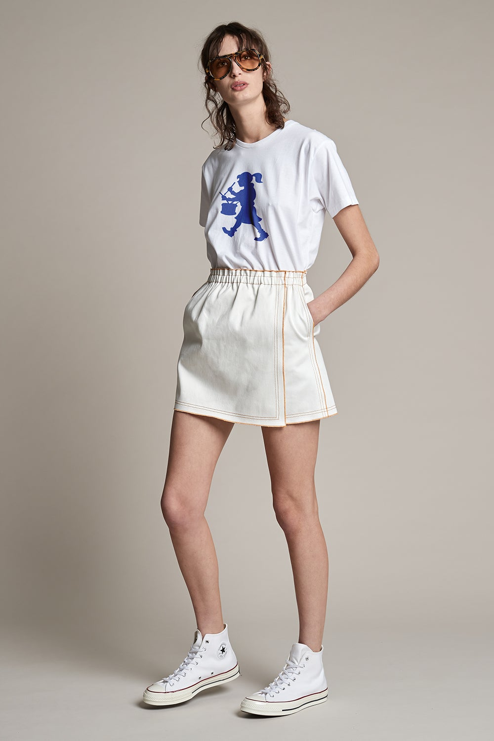Outland Denim x Karen Walker Rhythm Skirt