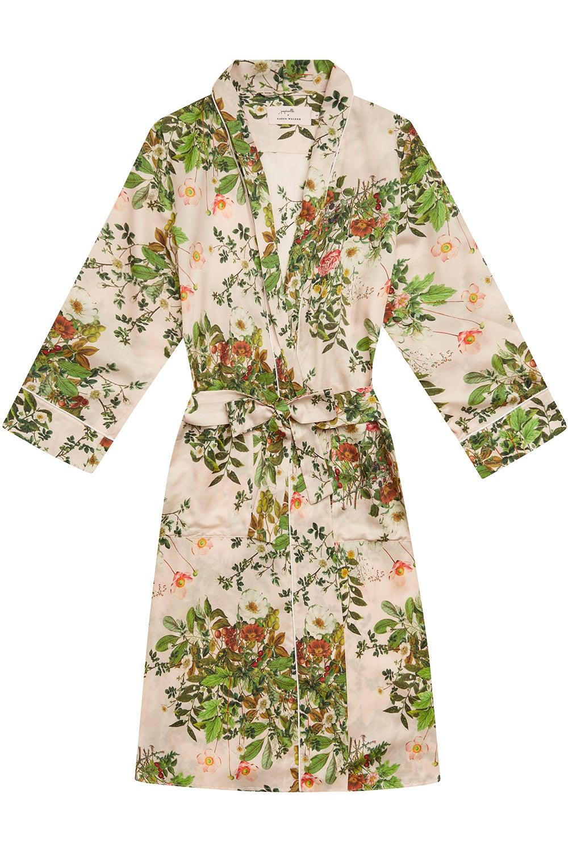 Papinelle x Karen Walker Love Letter Floral Robe Shell