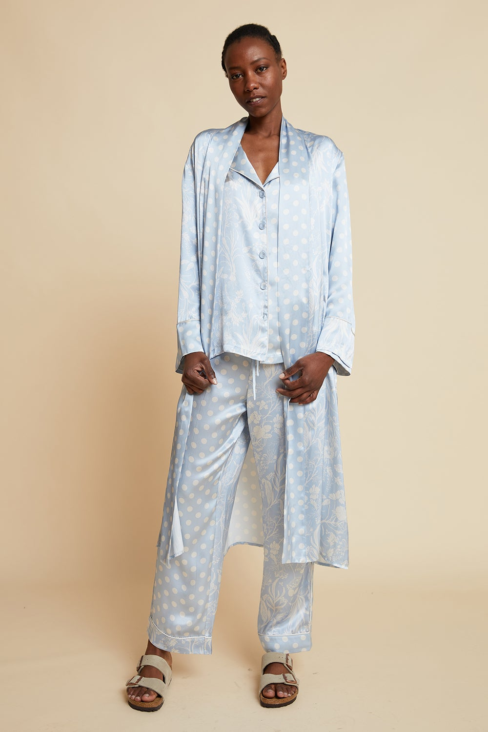 Papinelle x Karen Walker Spliced Ivy Robe