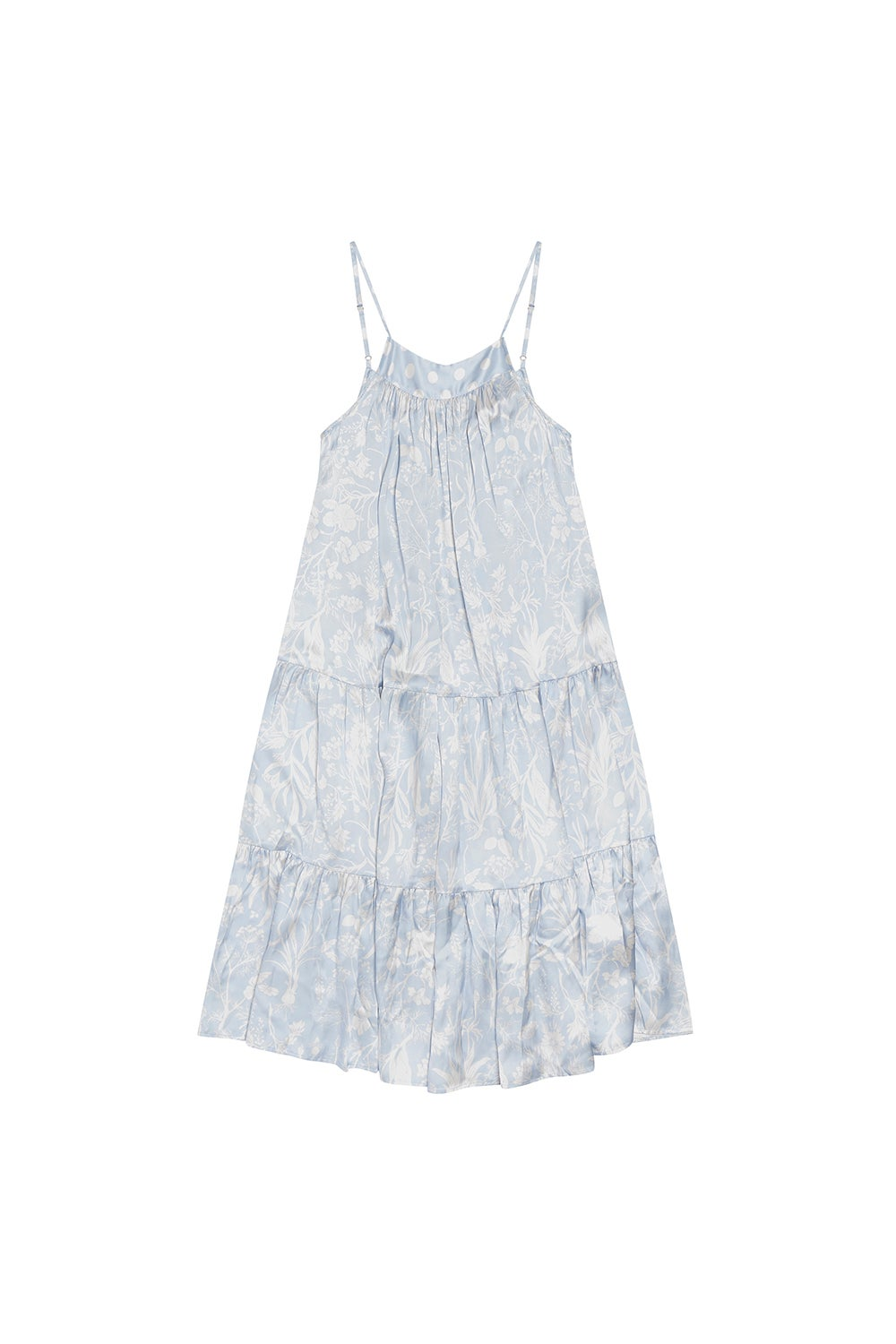 Papinelle x Karen Walker Spliced Ivy Tiered Nightie