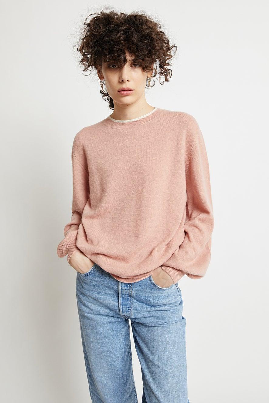 Pattie Bell Cashmere Sleeve Sweater