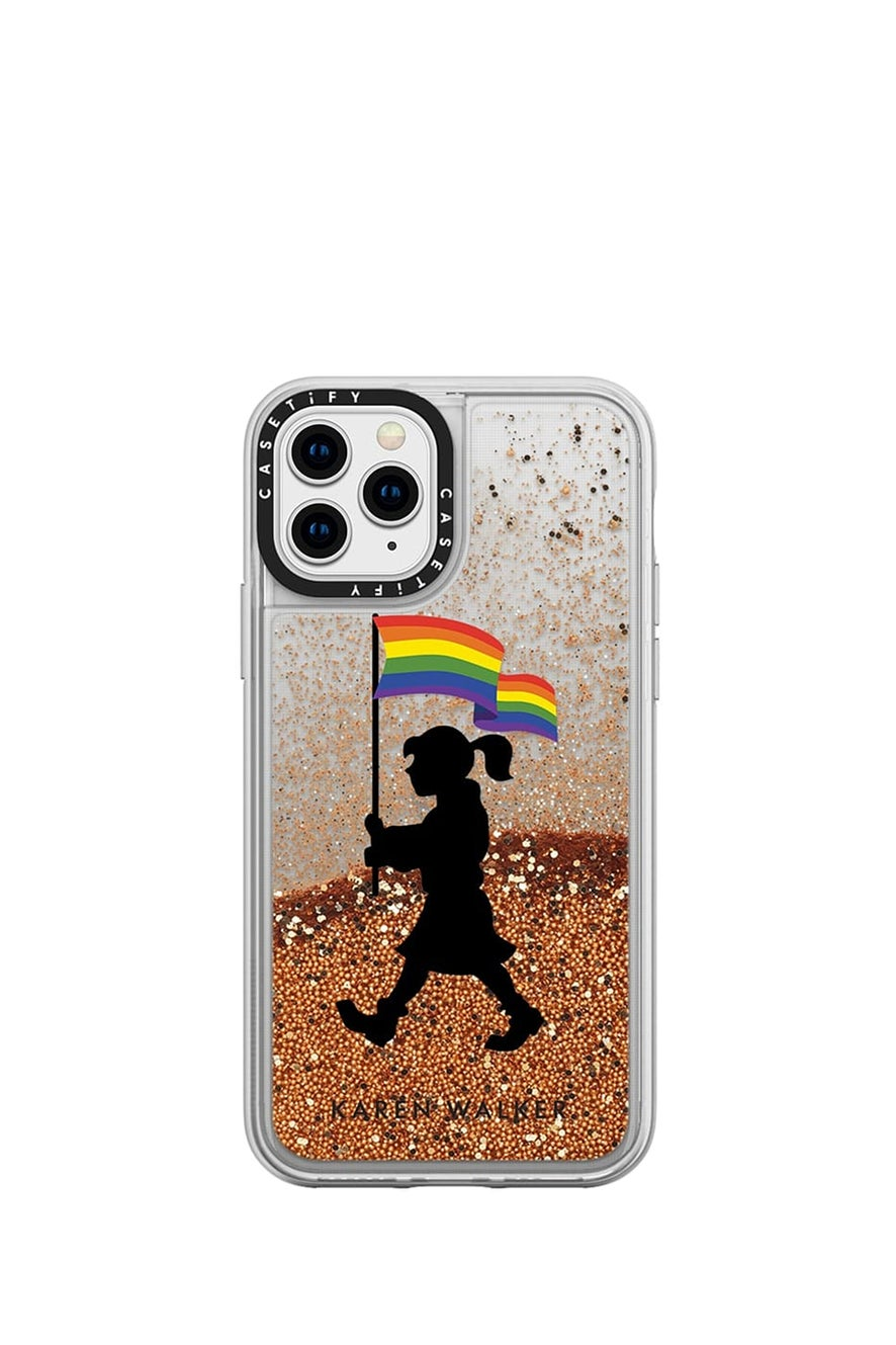 Pride Marching Girl iPhone Case