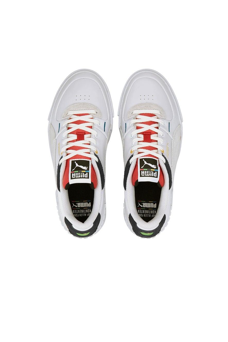 Puma Cali Sport Mix Puma White/High Risk Red
