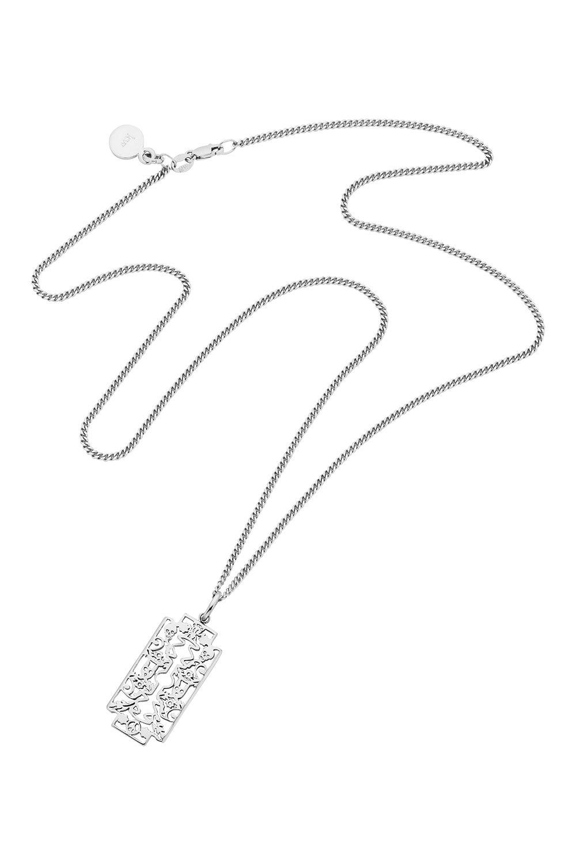Razor Pendant Silver