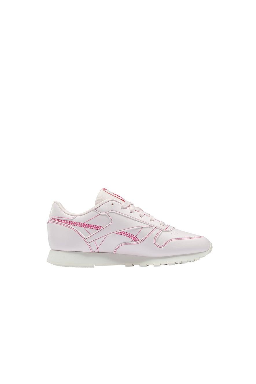 Reebok Classic Leather Vegan Porcelain Pink/Chalk/Pursuit Pink