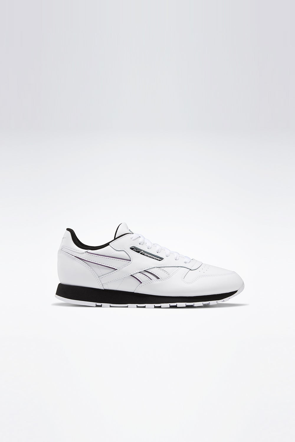 Reebok Classic Leather White/Black/Silver Metal