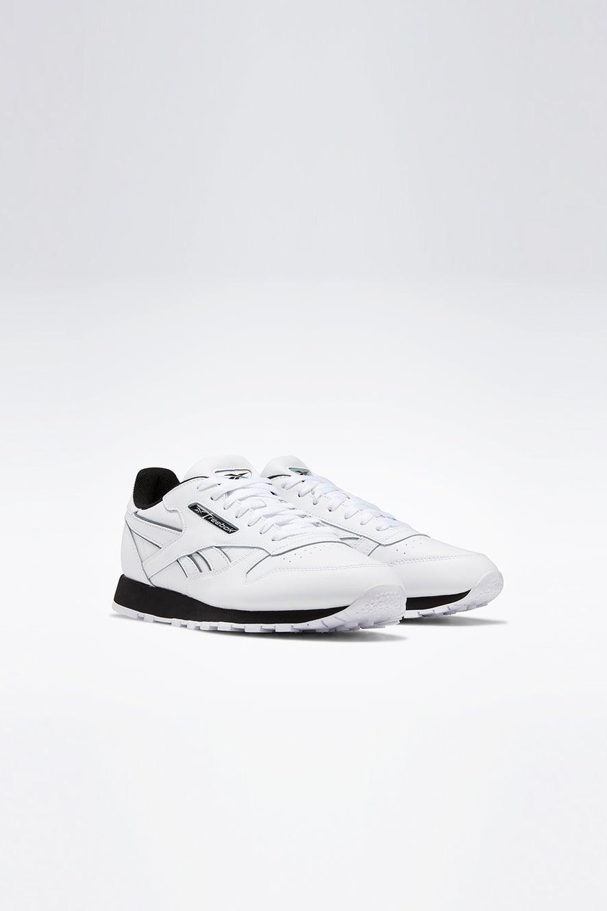 Reebok Classic Leather White/Black/Silver Metal