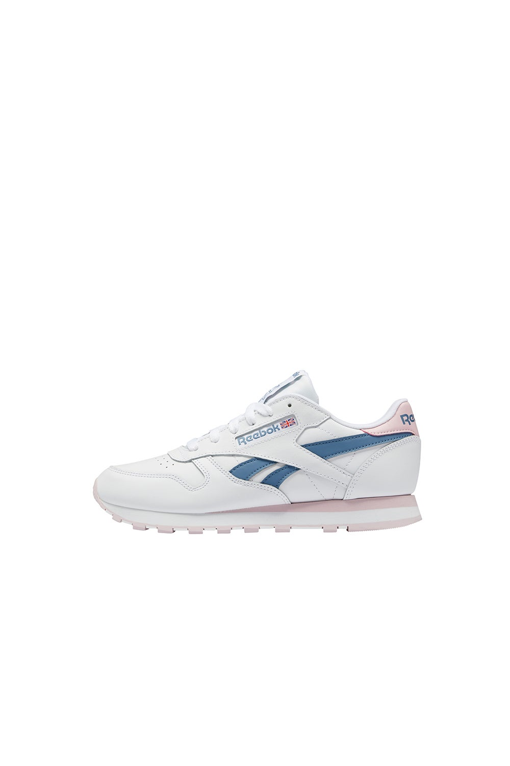 Reebok Classic Leather White/Frost Berry/Blue Slate