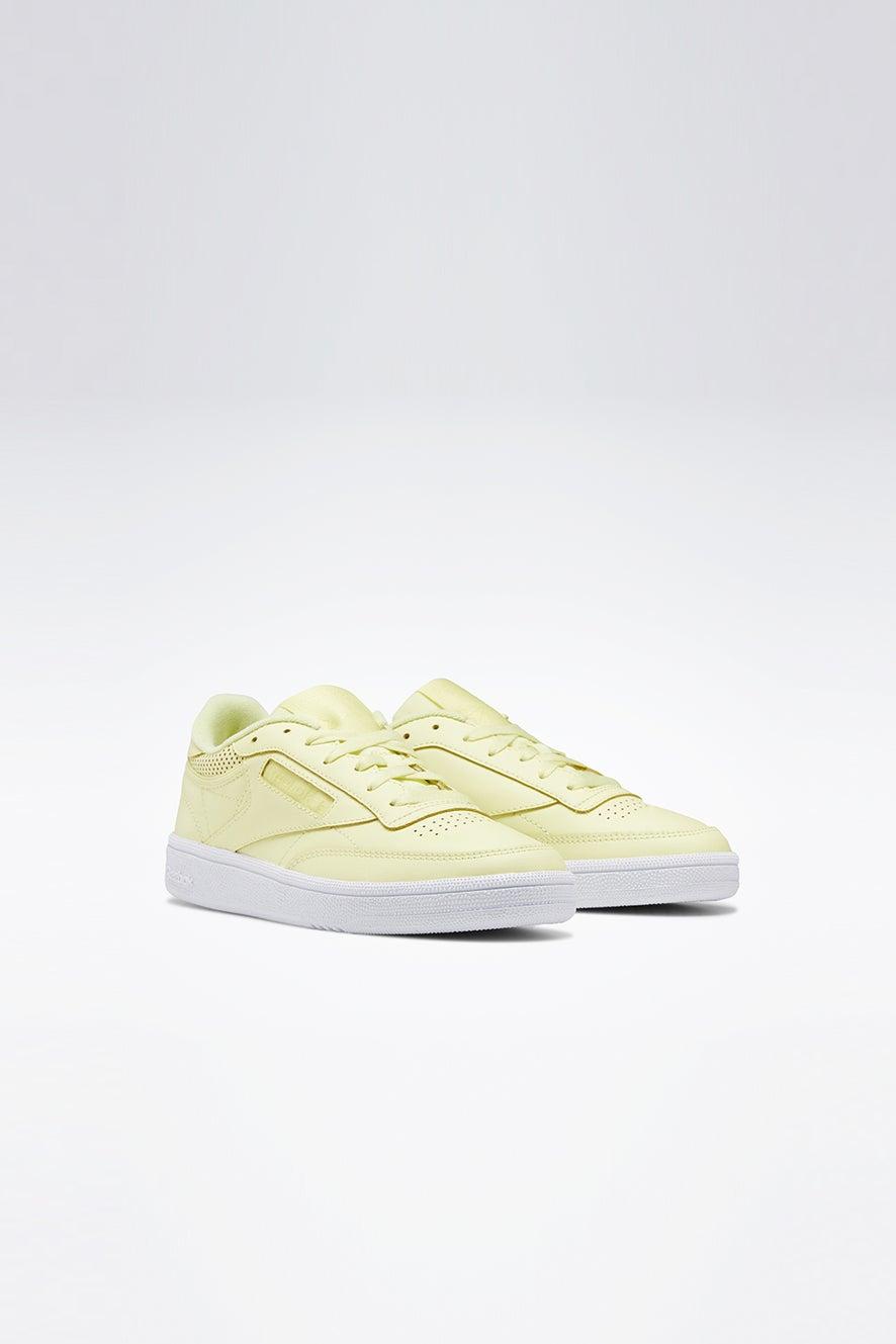 Reebok Club C 85 Lemon Glow/White
