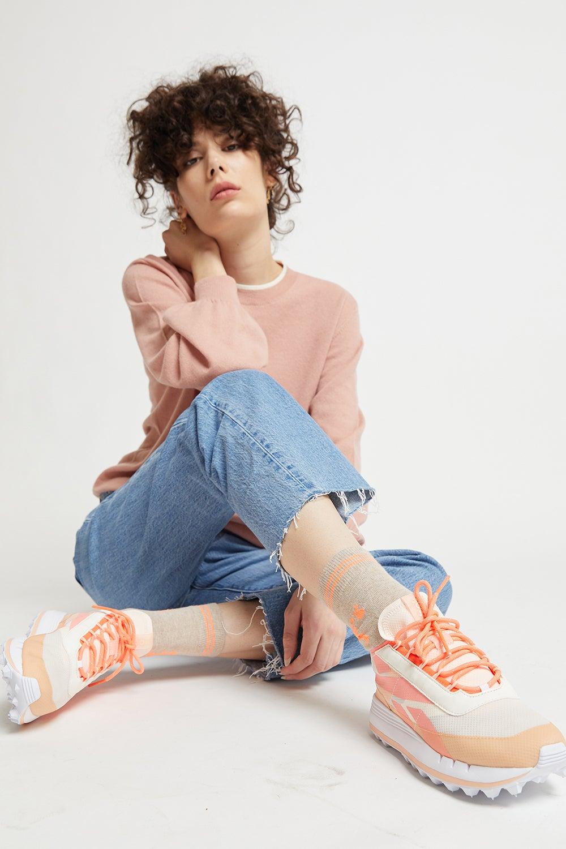 Reebok Legacy 83 Shoes Ceramic Pink/Aura Orange/Orange Flare