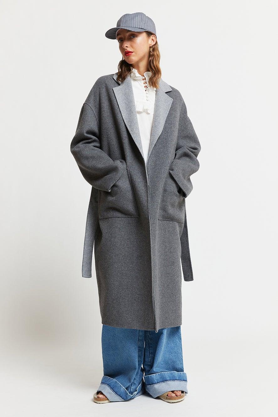 Reversible Wool Coat