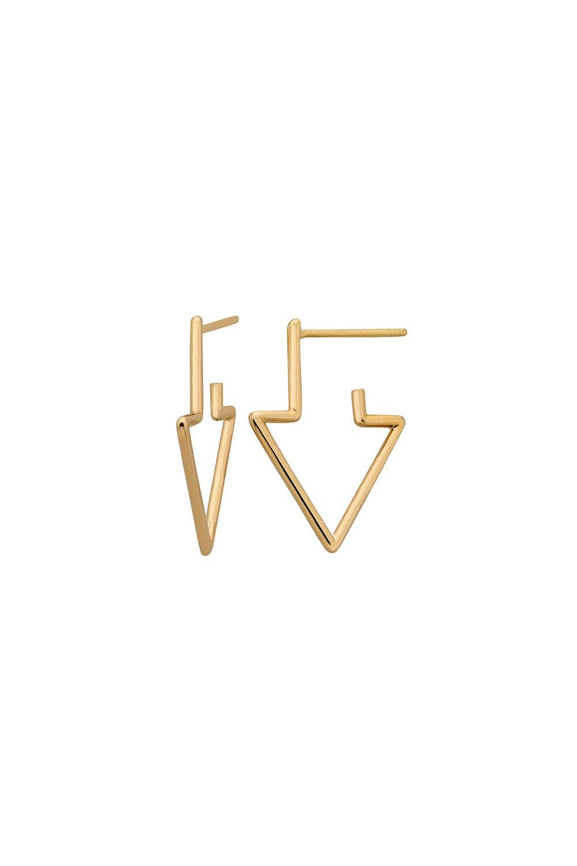 Runaway Arrow Earrings Gold