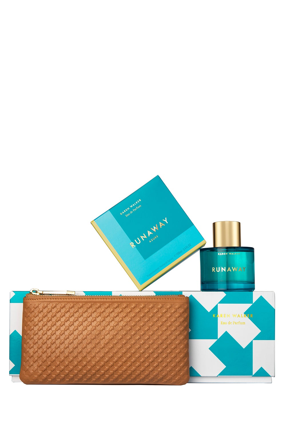 Runaway Azure 100ml Set with Long Purse