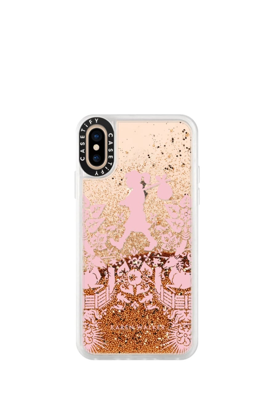 Runaway Filigree iPhone Case Pink