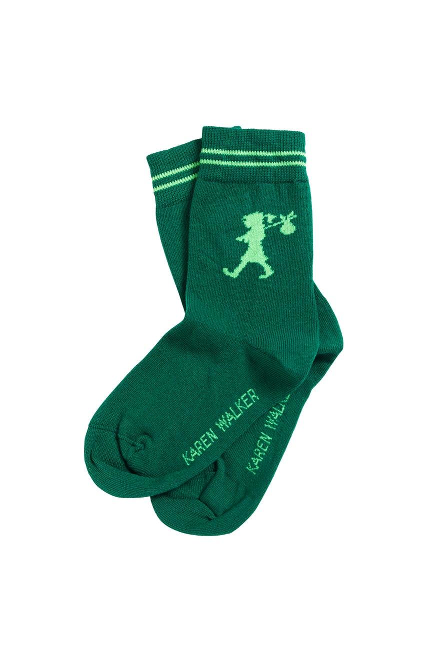 Runaway Girl Ankle Sock