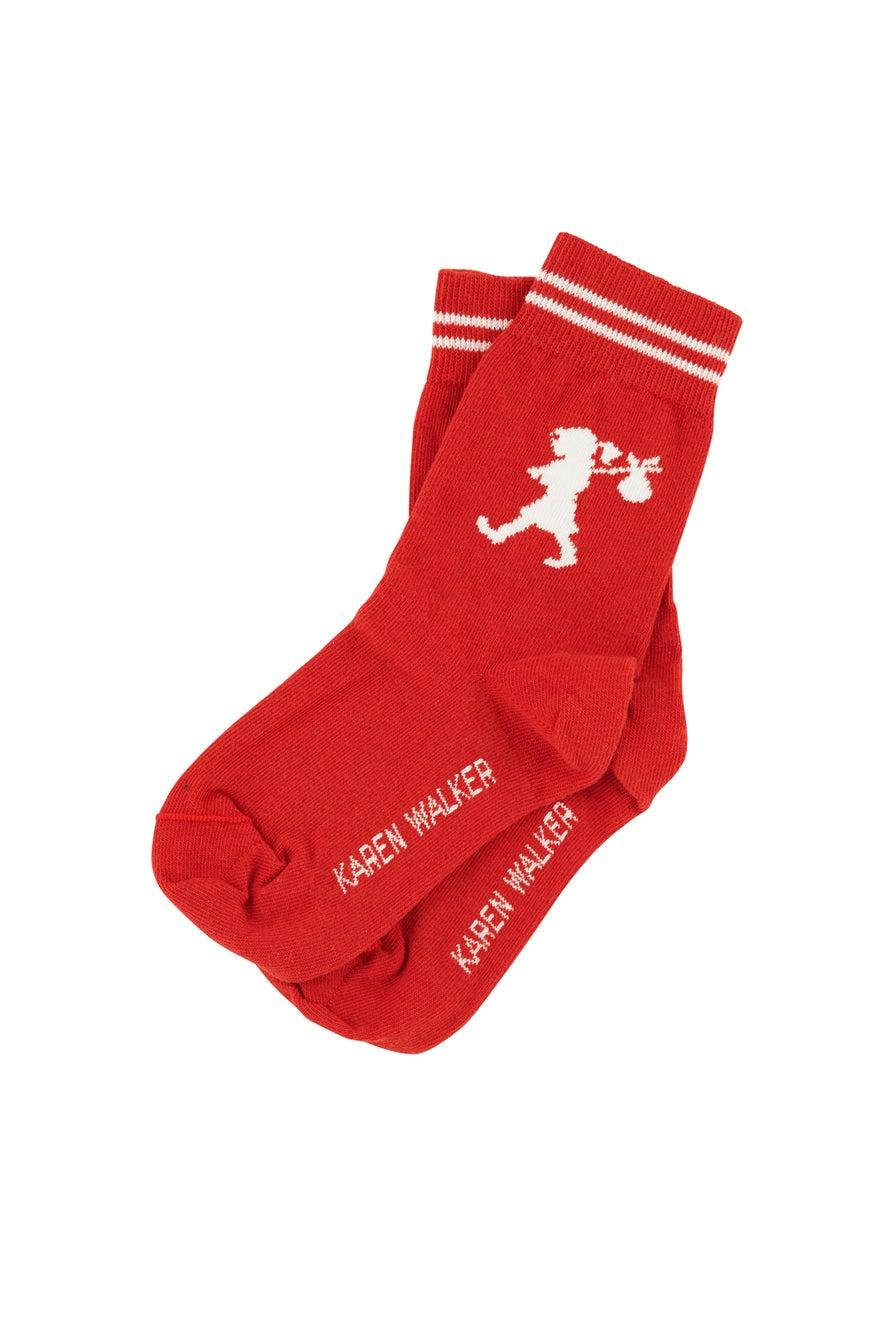 Runaway Girl Ankle Socks