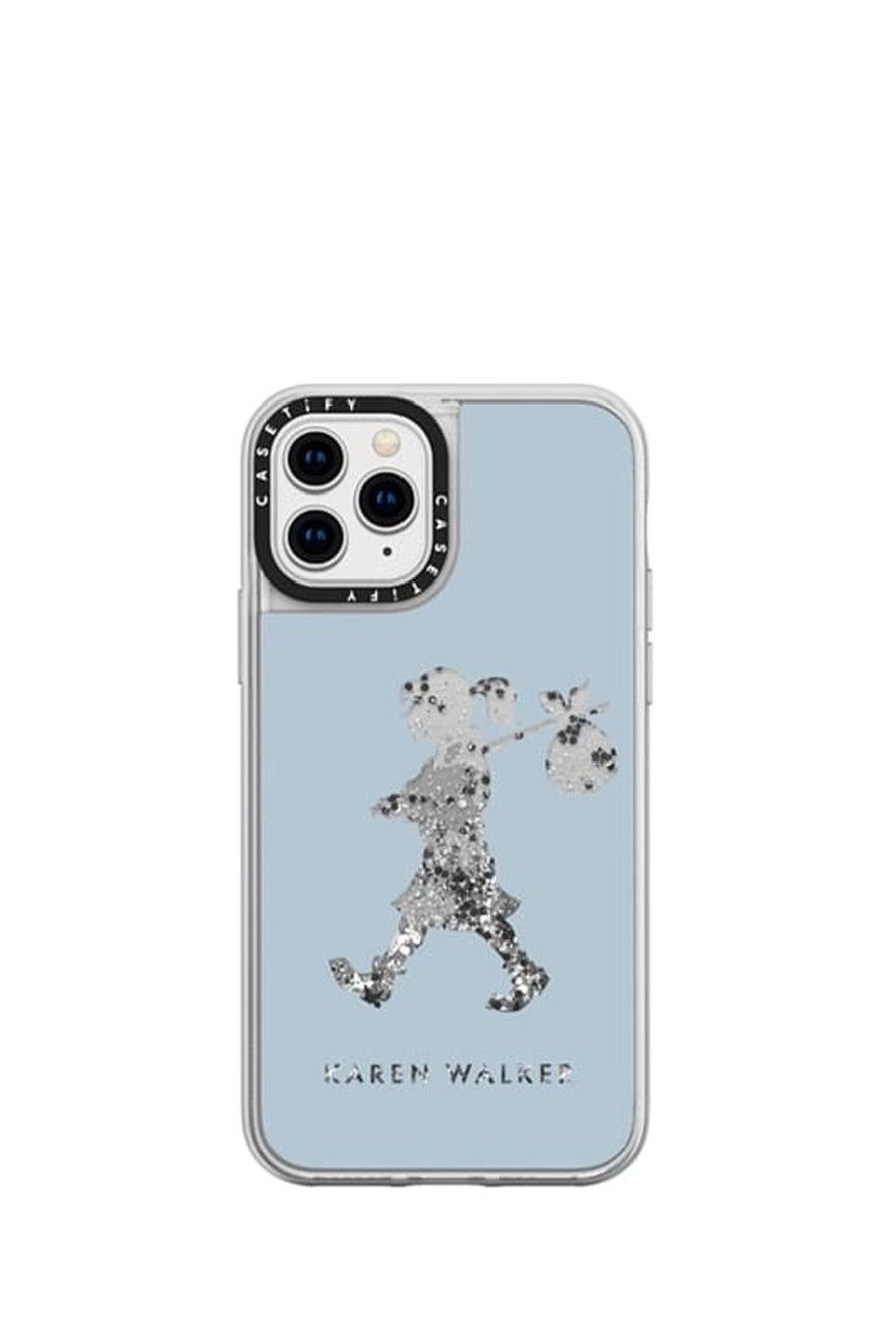 Runaway Girl iPhone Case Blue