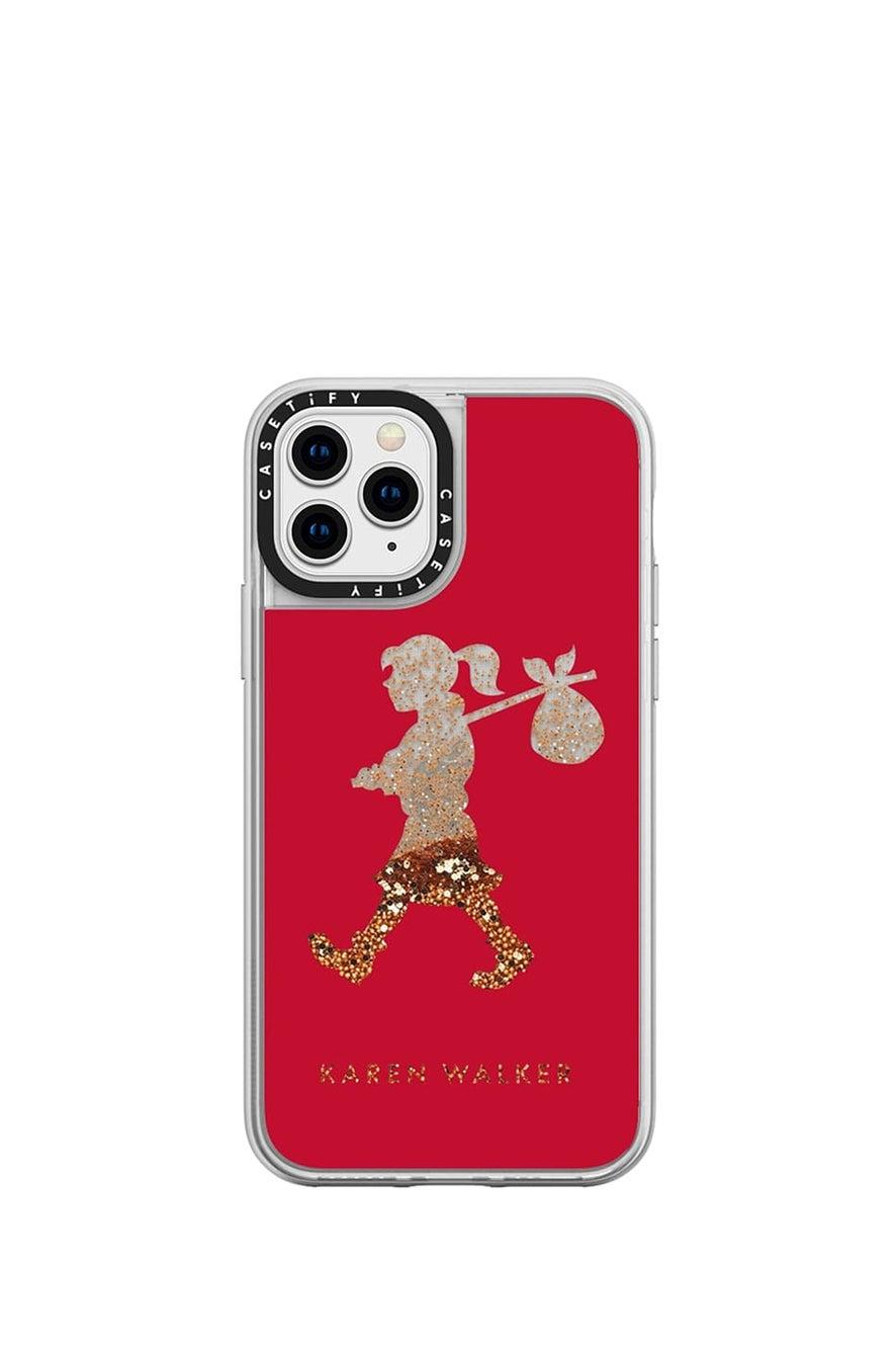 Runaway Girl iPhone Case Red