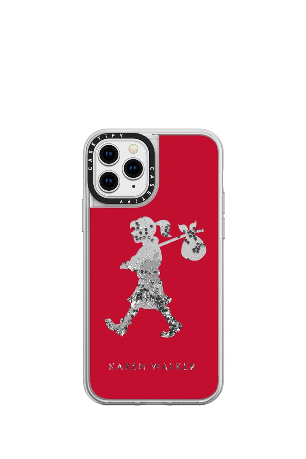 Runaway Girl iPhone Case Red