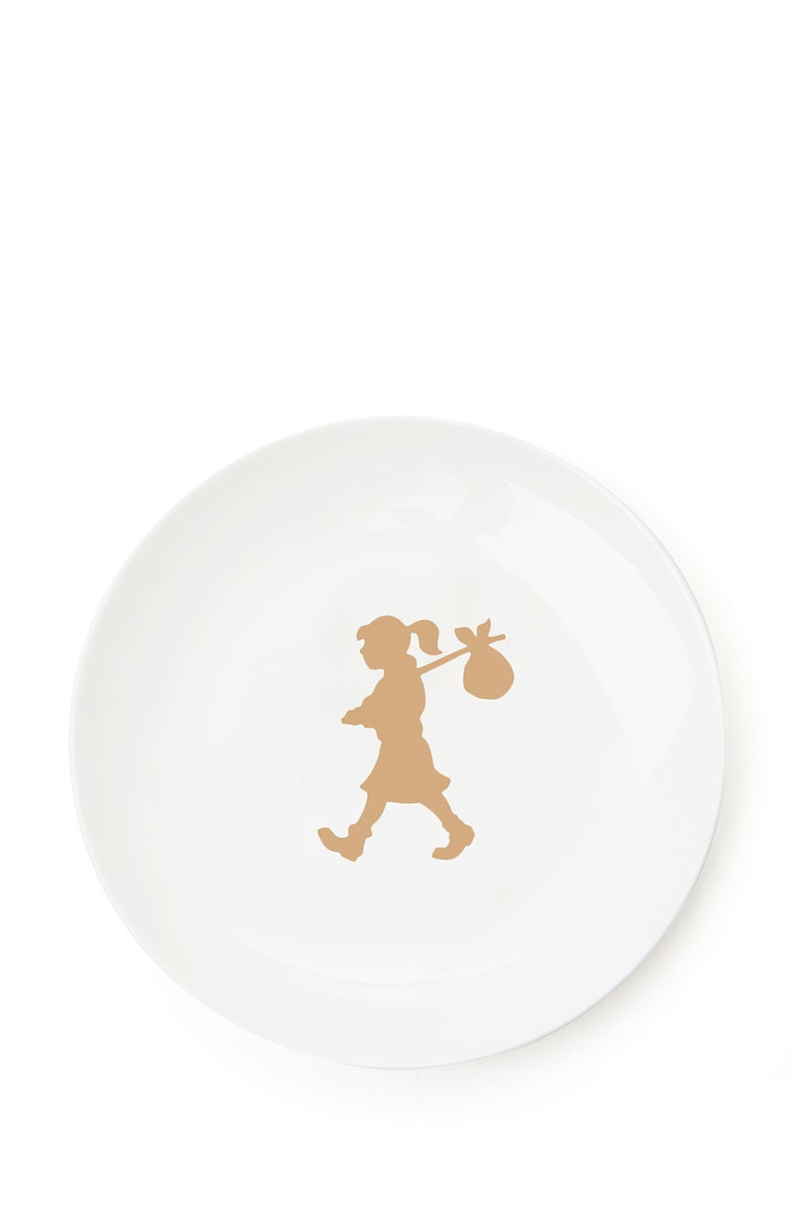 Runaway Girl Mixed Plate Set