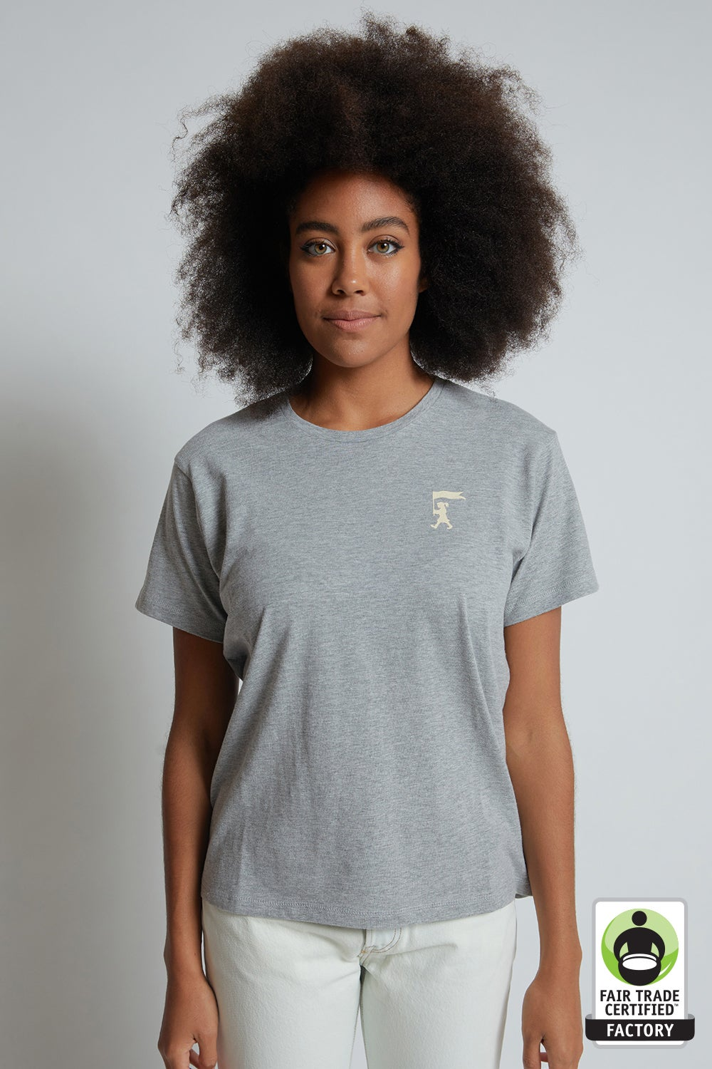 Marching Girl Organic Cotton T-Shirt