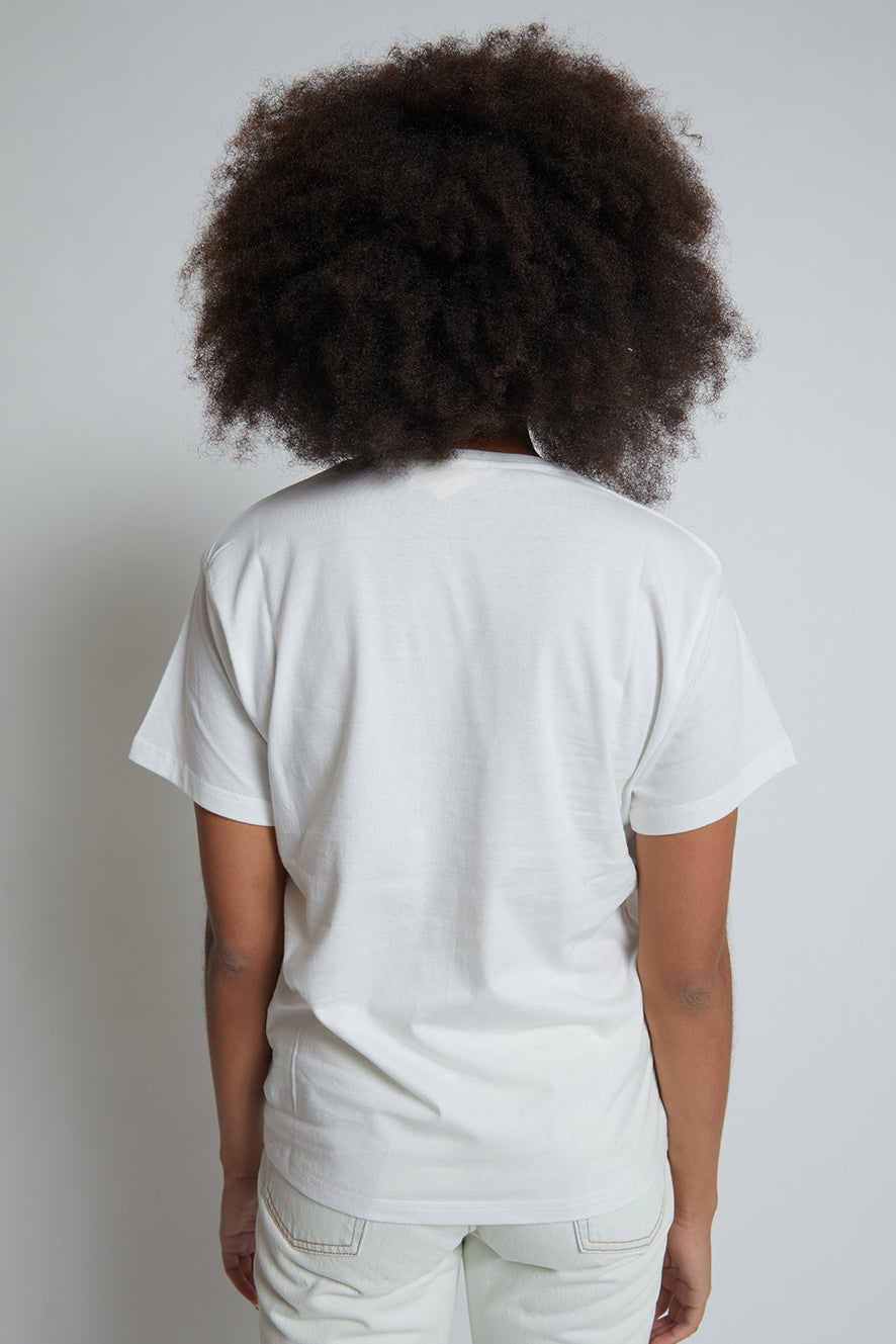 Runaway Girl Organic Cotton T-Shirt
