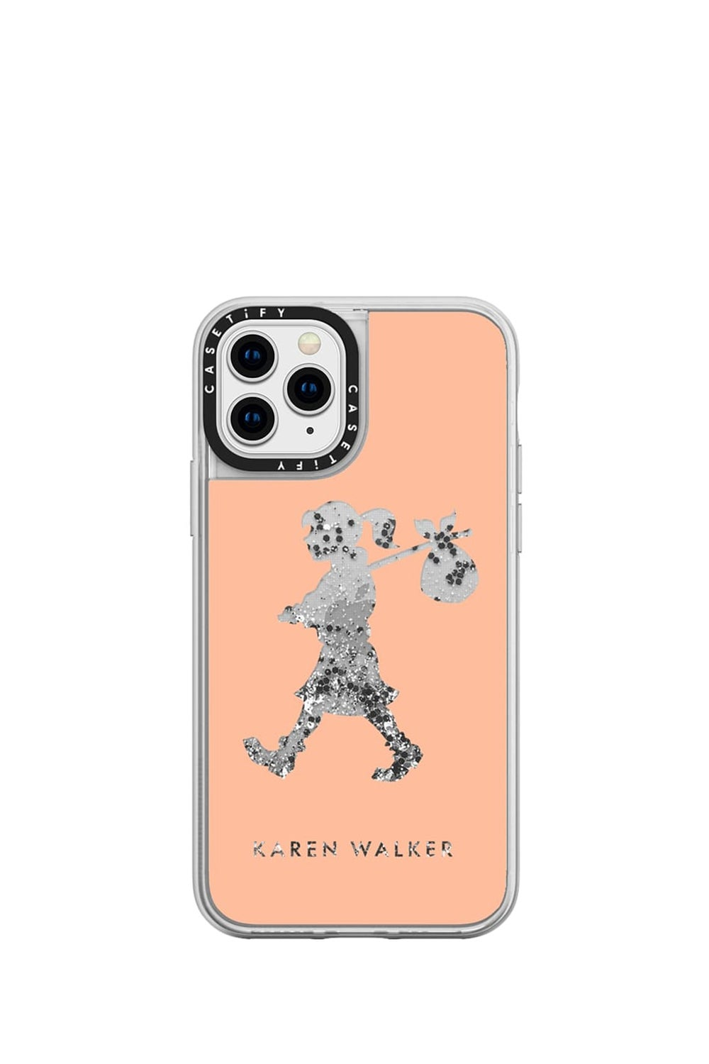 Runaway Girl iPhone Case Peach