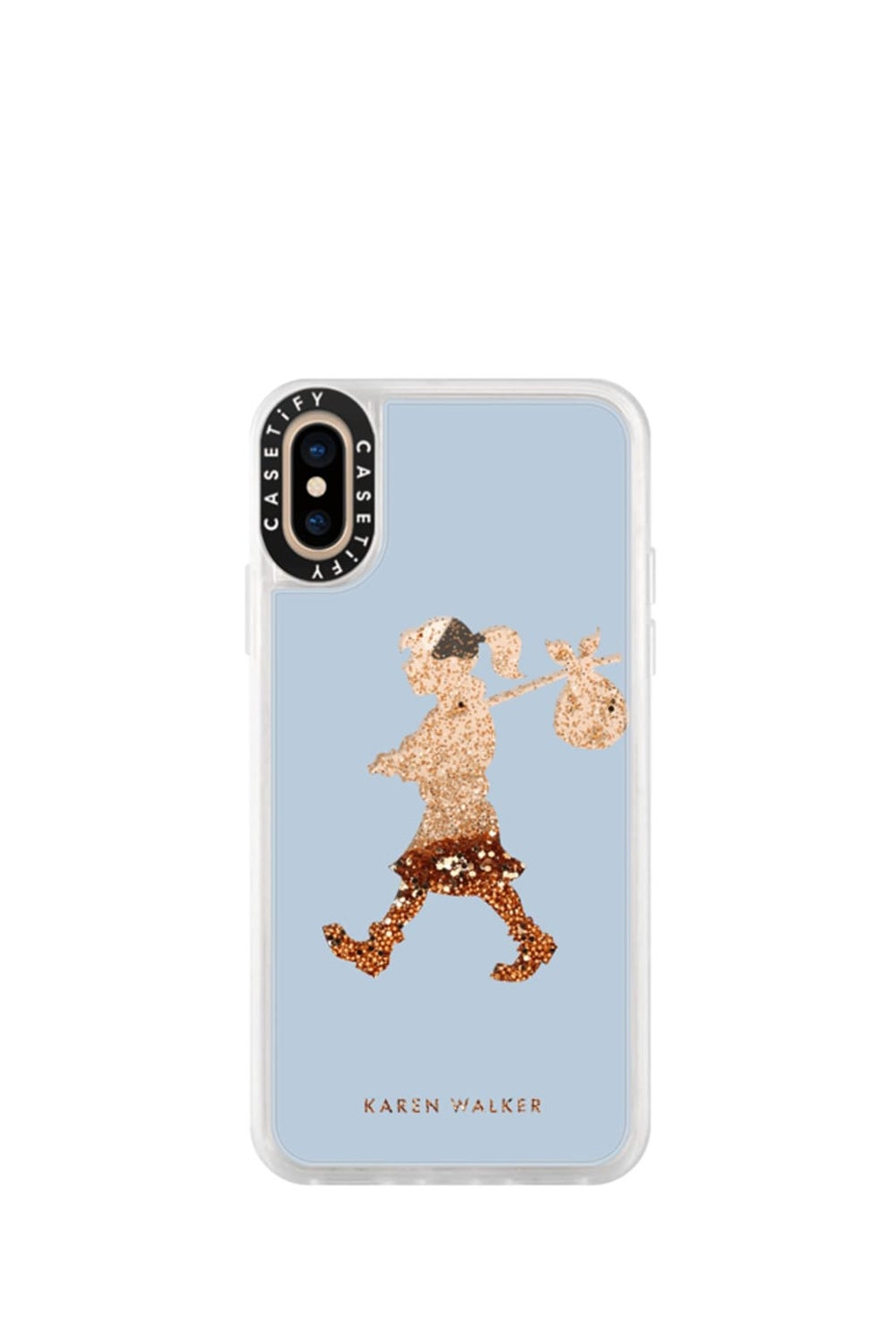 Runaway Girl iPhone Case Blue