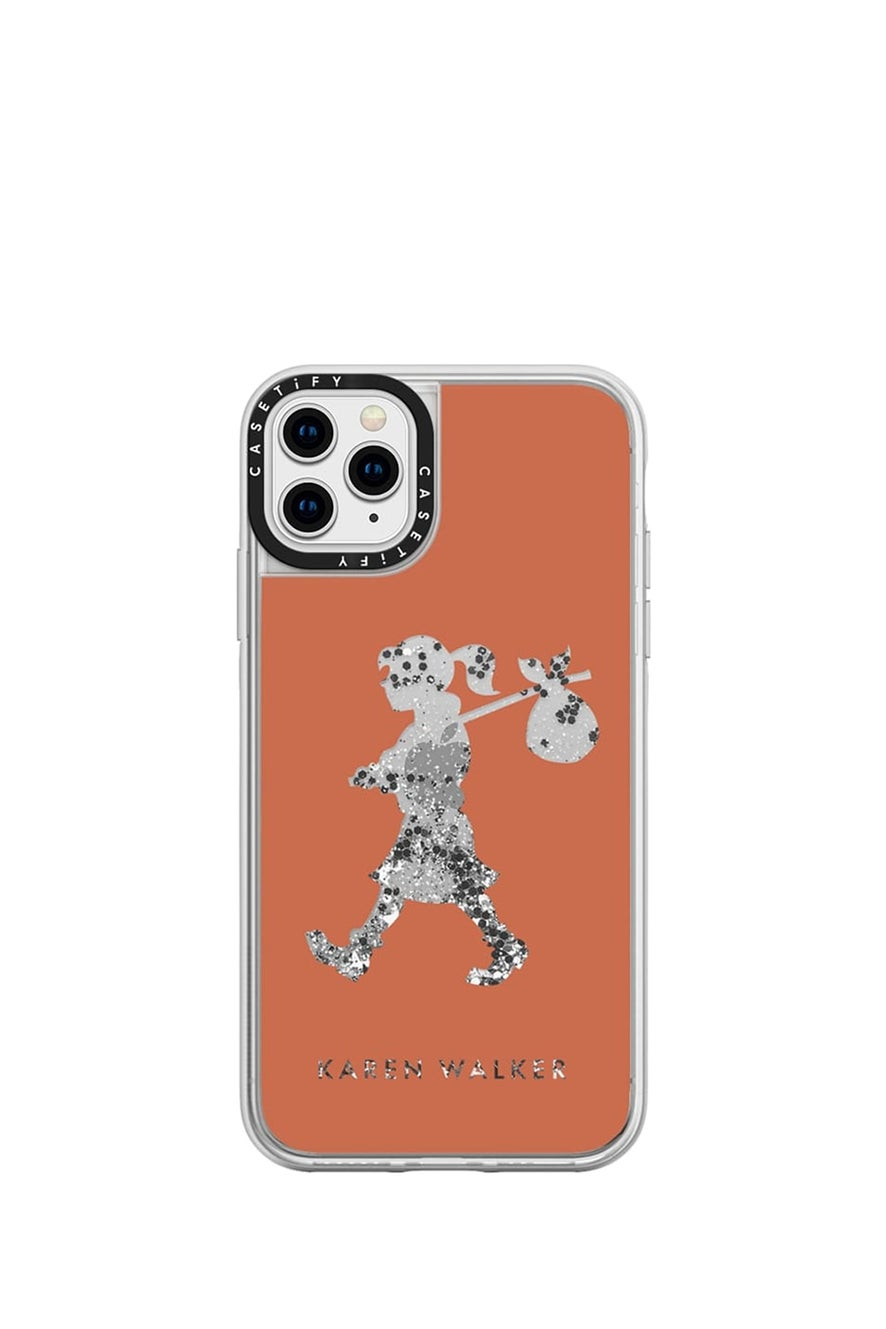 Runaway Girl iPhone Case Terracotta