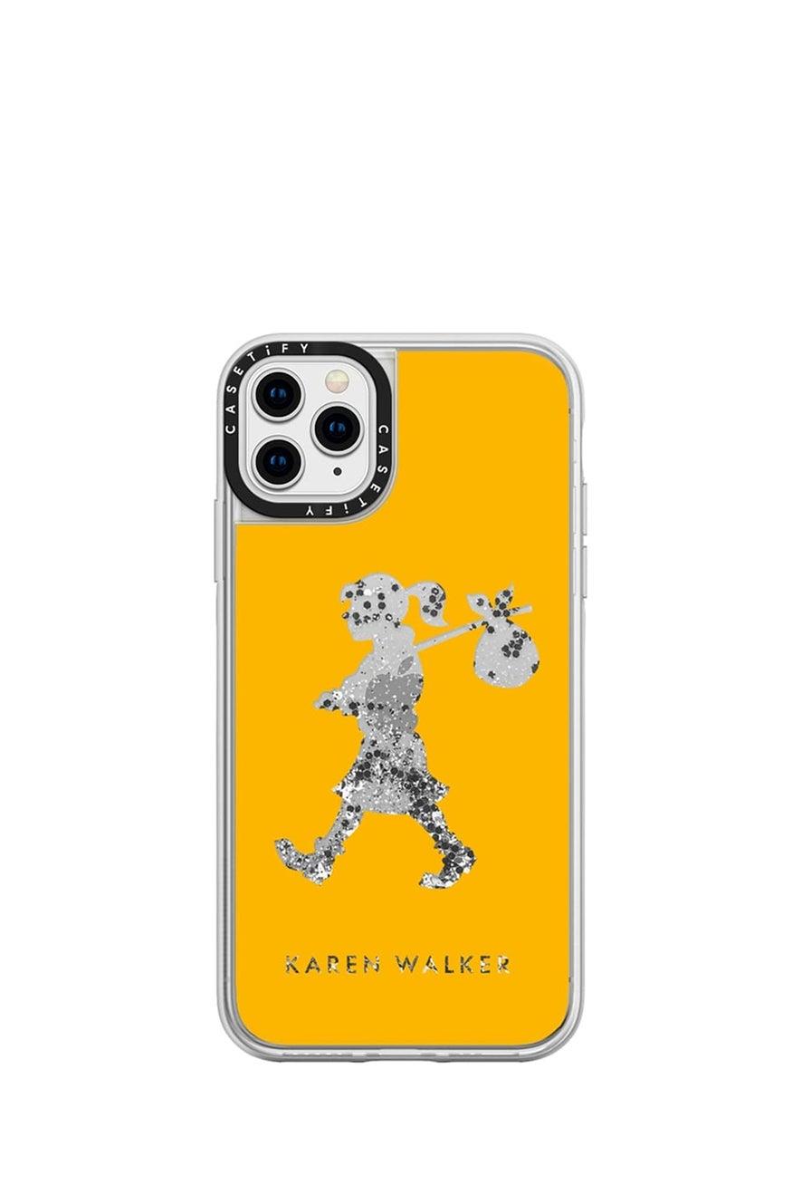 Runaway Girl iPhone Case Mustard